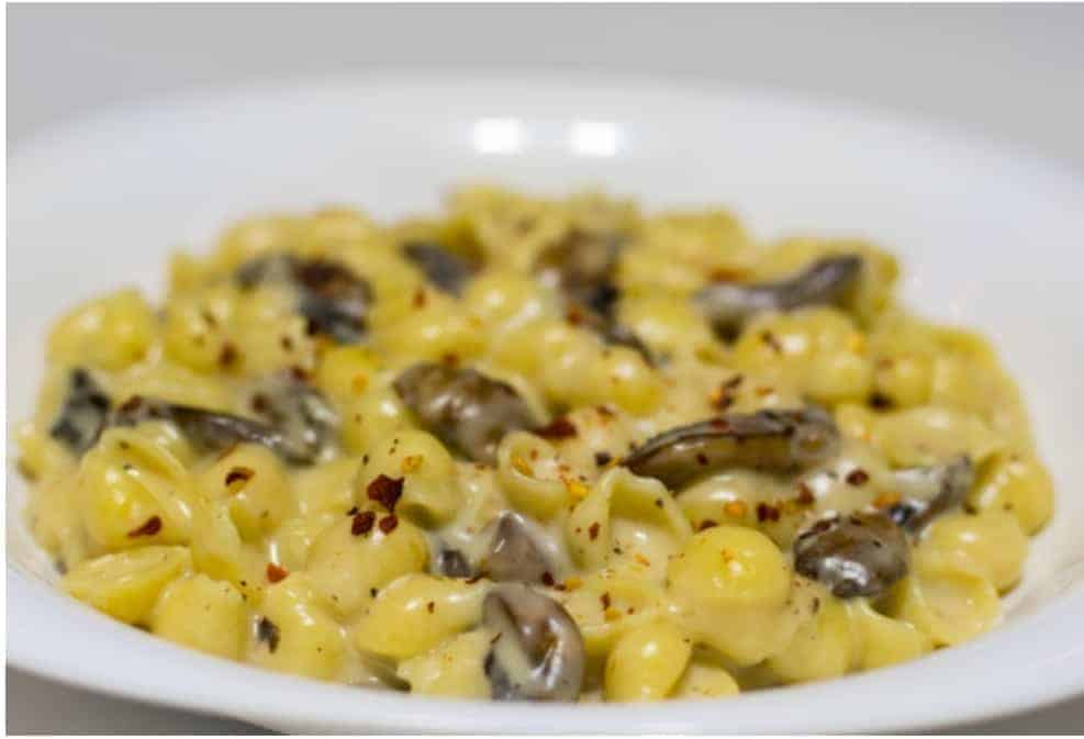 vanlife-Gouda, Mushroom, & Truffle Salt Mac & Cheese