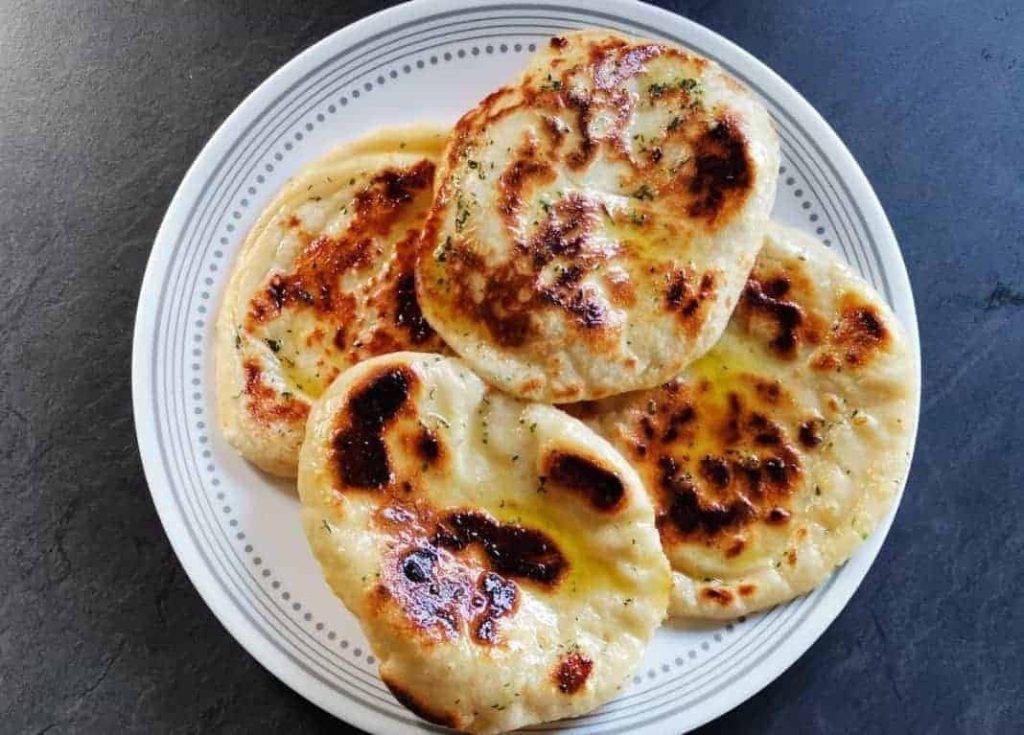 vanlife-Very easy naan bread