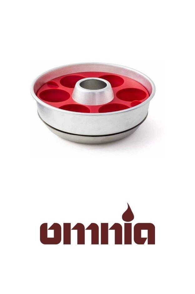 omnia silicone muffin ring