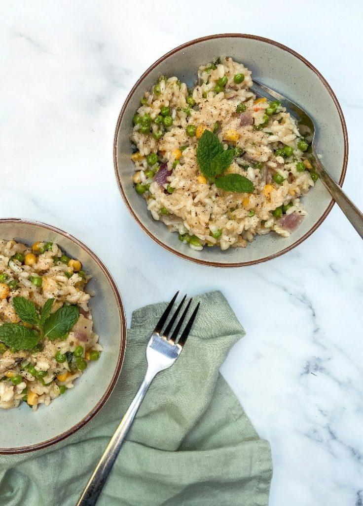 vegan-risotto recipe