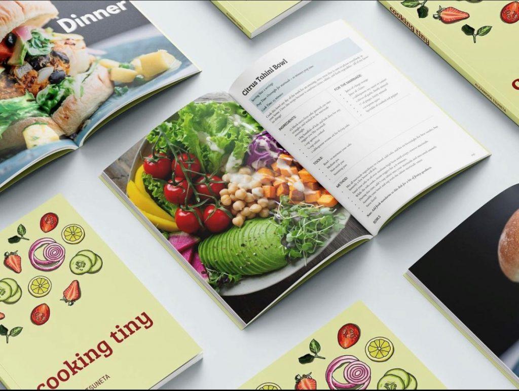 Cooking tiny cookbooks