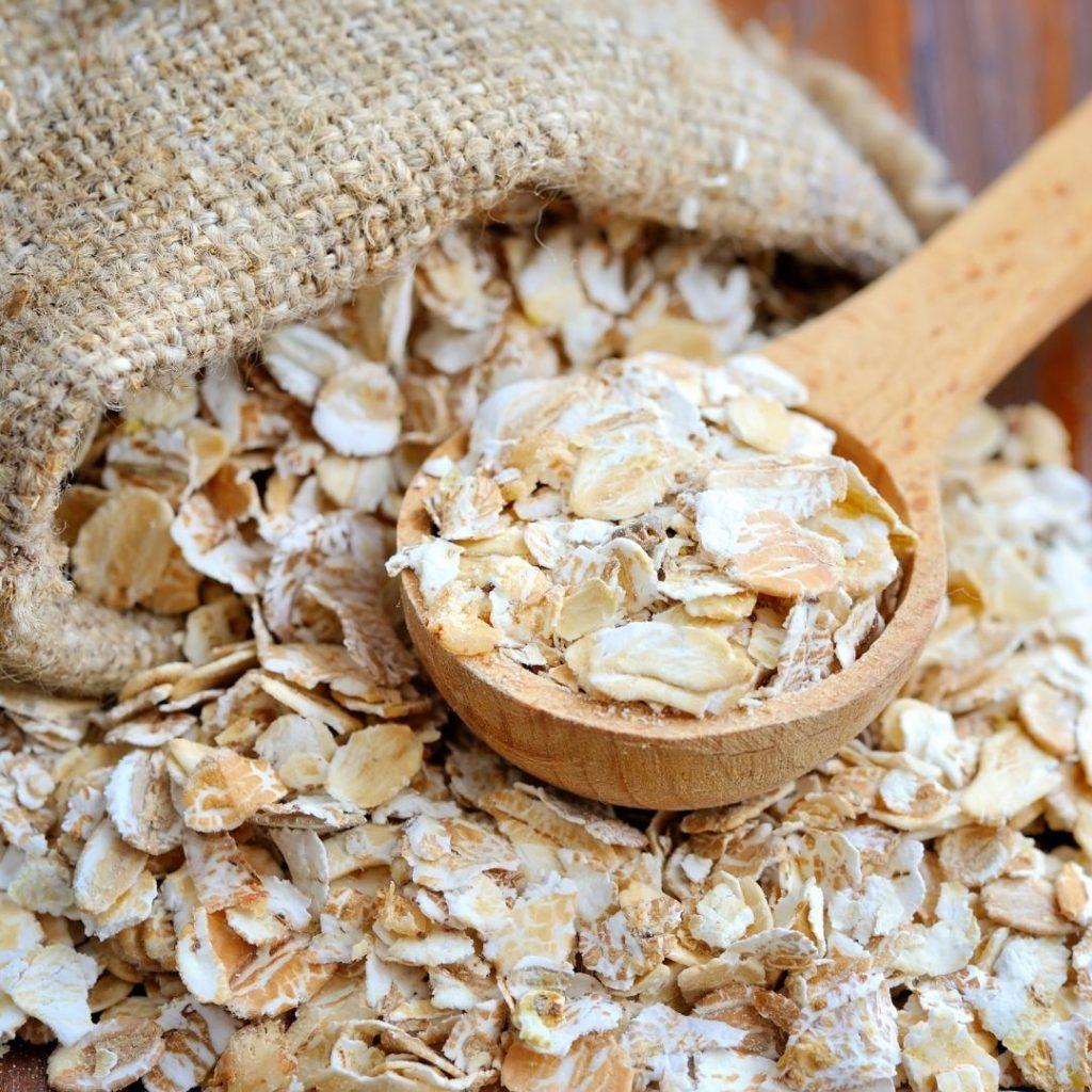 Pile of oats